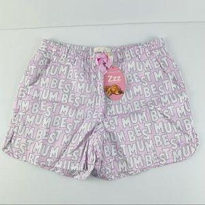 Peter Alexander Best Mum PJ Shorts Size's S, M & L